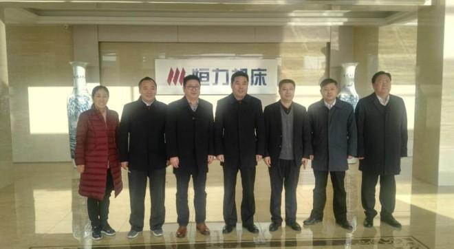 悦达公司领导来我公司参观,期待与恒力进一步深层次的紧密合作