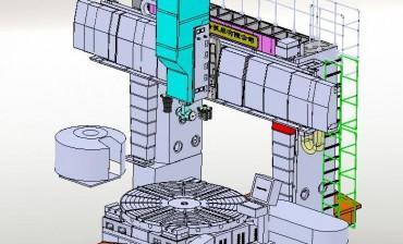 VTM300龙门车铣复合加工中心